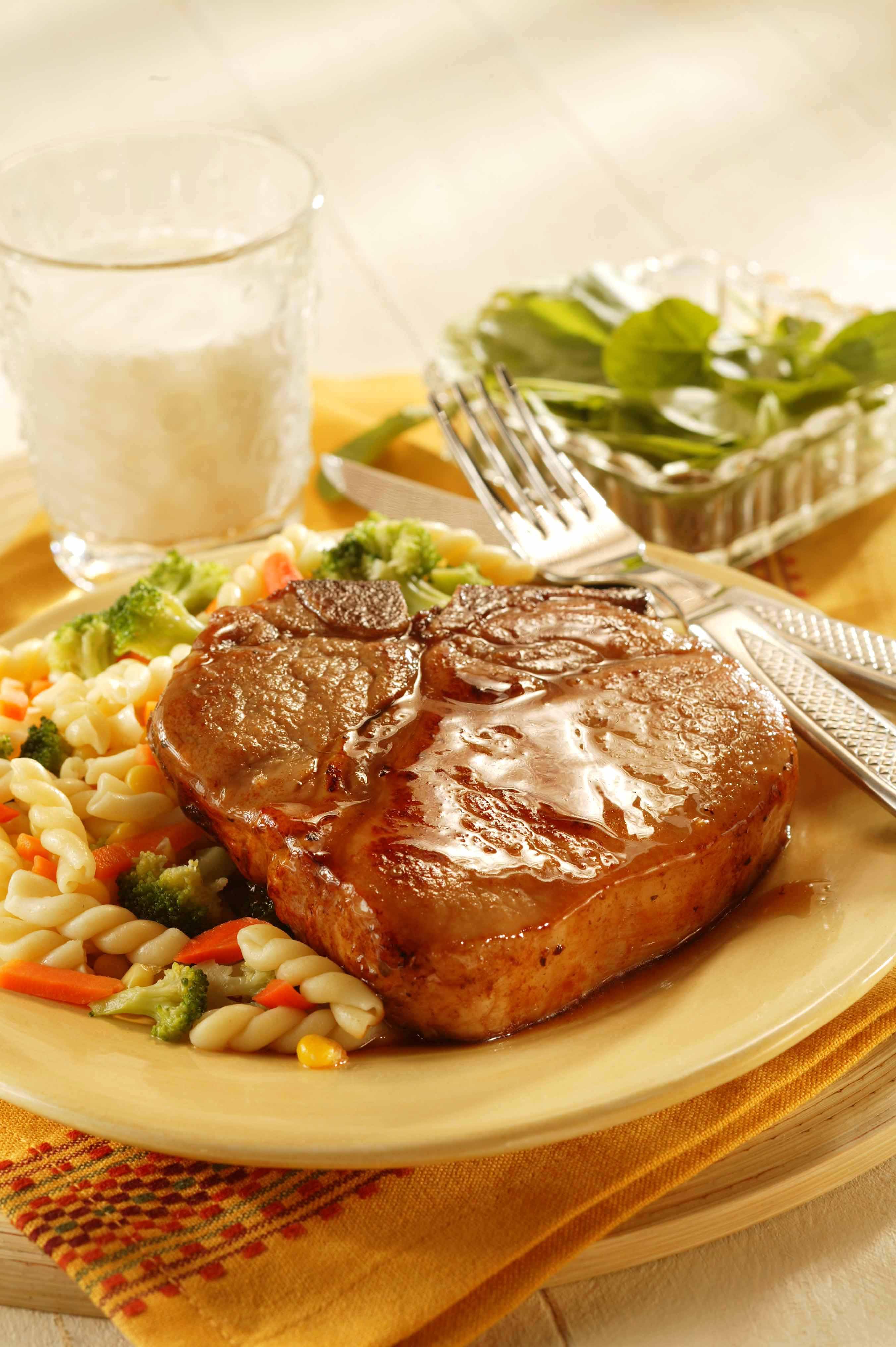 Honey Glazed Pork Chops Pork Recipes Pork Be Inspired