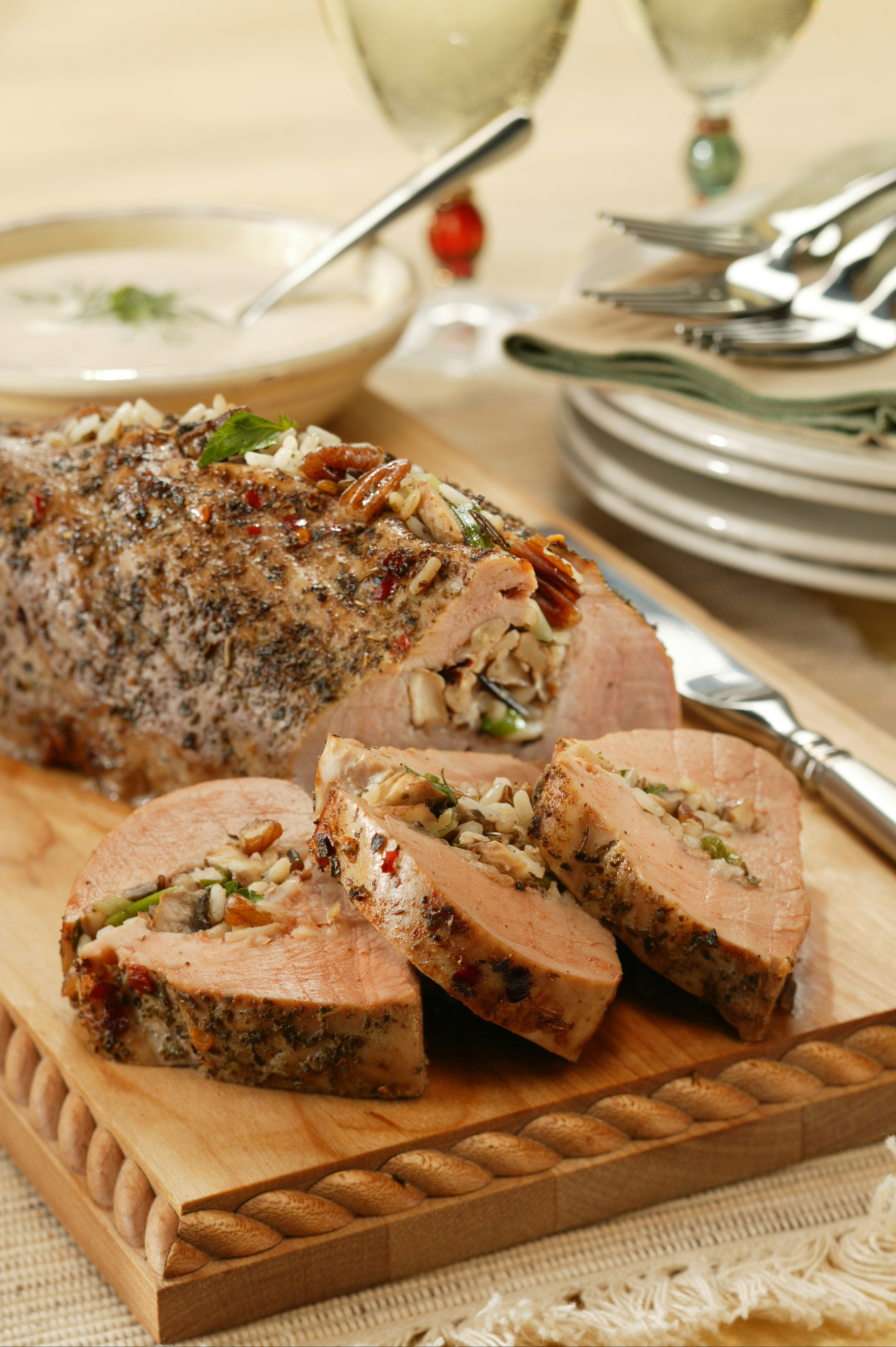 Pork tenderloin stuffing recipes