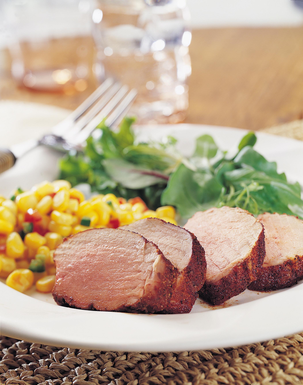 Southwest-Spiced Roast Pork Tenderloin - Pork Recipes ...