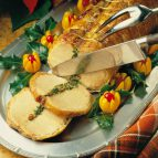 Spinach-Stuffed Pork Roast