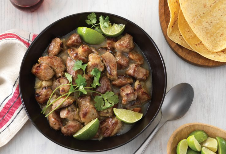 Pork with Chiles and Lime