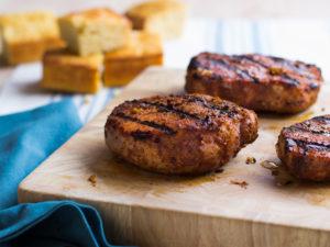 Easter Grilling pork chops