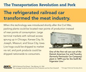 refrigerated rail car