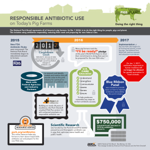 responsible antibiotic use timeline
