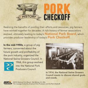 checkoff history nppc
