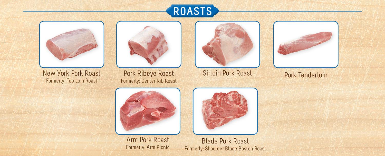 identifying pork roasts