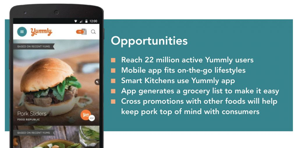 yummly opportunities